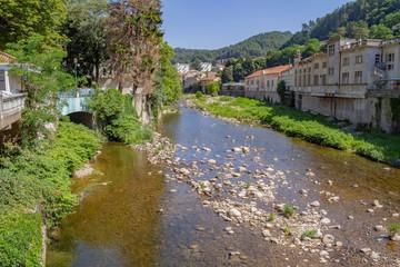 Fototapeta na wymiar Vals-les-Bains