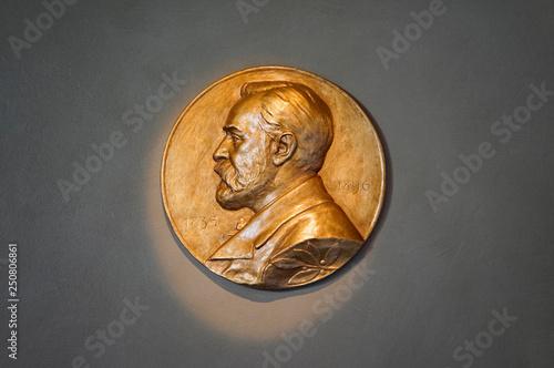 Fotografiet Nobel Prize Stockholm Sweden