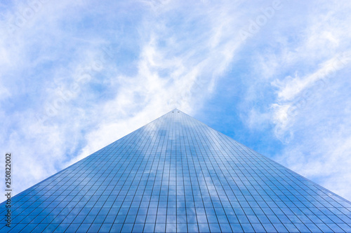 Fotografía USA, NEW YORK, DECEMBER 2018: World Trade Center is the tallest building in the