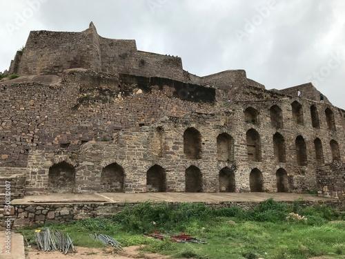 Obraz na plátně Ruins of Golconda Fort in Hyderabad, India
