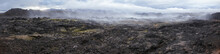 Steaming Lava Field Panorama K...