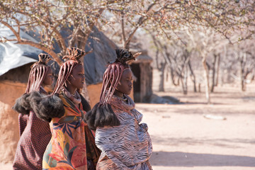 Himba village in Namibia