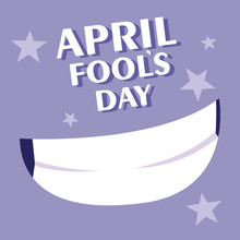 April Fools Day Smile Poster