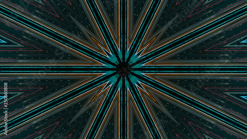 Futuristic Abstract background with animation of flight in