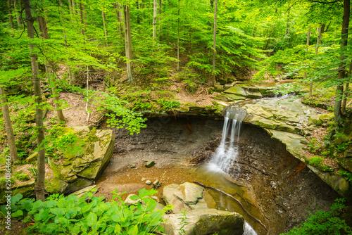 Fotografie, Obraz  Blue Hen Falls