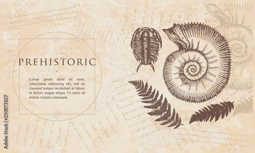 Fototapeta  Prehistoric