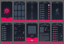 Audio Book Ui Design App