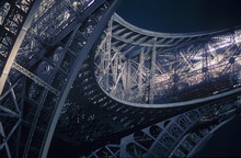 Structural Detail Of Eiffel Tower
