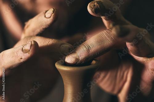 Slika na platnu pottery art, clay product, molding