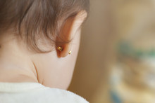 Ear Piercing For Small Children, One Year Old Child