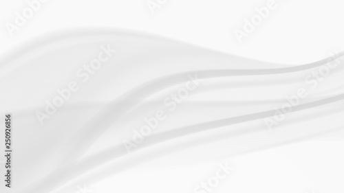 Fotobehang Fractal waves abstract background, vector