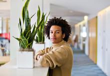 Portrait Of Office Worker