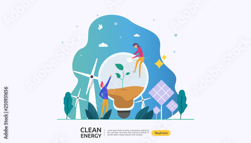 Canvastavla green clean energy sources