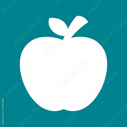 Fototapeta  Vector Apple Icon obraz na płótnie