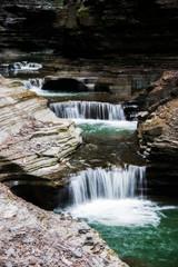 Fototapeta Wodospad waterfall at Watkins Glen New York