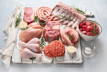 Raw Meat - Beef, Pork, Lamb, C...