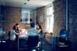 Five people in office during meeting