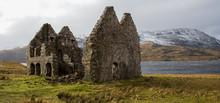 Ruins Of A Scottish Manor House - Scotland