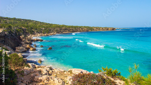 Cyprus. Sea beach landscape