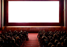 People In The Cinema Auditoriu...
