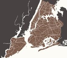 Map Of Ny-York City
