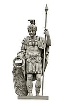 Statue Of Roman God Of War Mar...