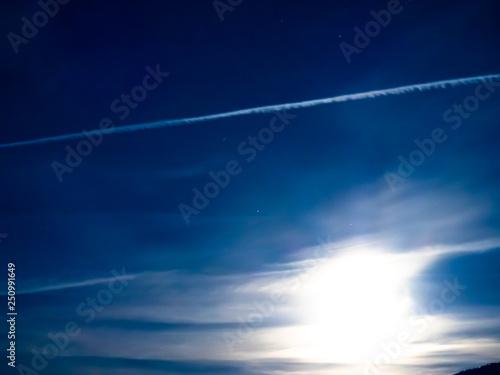 Fototapeta starry sky at night obraz na płótnie