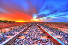Indian-Pacific Railway Across ...