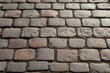 Close up surface of cobblestone in high resolution