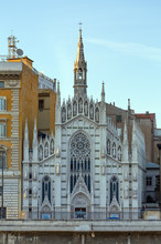 Church Of The Sacred Heart Of The Suffrage, Rome, Italy.