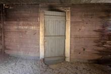 Grey Wooden Door Highlighting ...