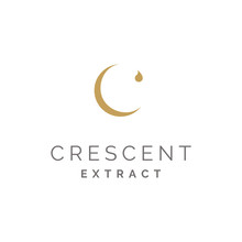 Initial C For Crescent Moon An...