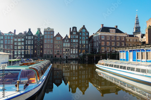 Photo  Houses of Amsterdam, Netherlands