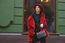 Outdoor Fashion Portrait Of Y...