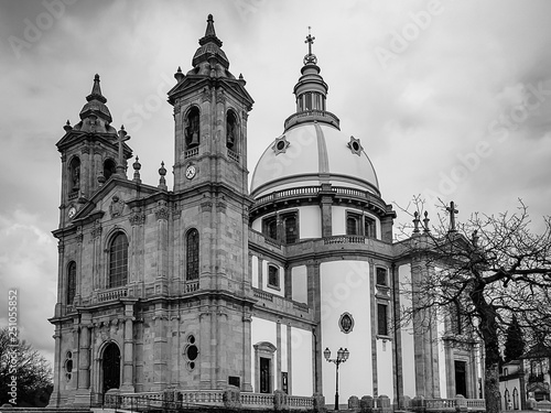 Photographie  The church of the Our Lady of Sameiro, in Braga