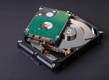 Disassembled Computer Hard Drive