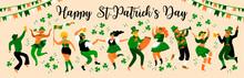 Saint Patrick S Day. Vector Il...