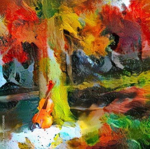 Fotografie, Obraz  Autumn sounds