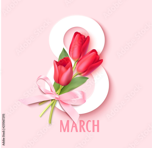 Foto Womens Day 8 March design template