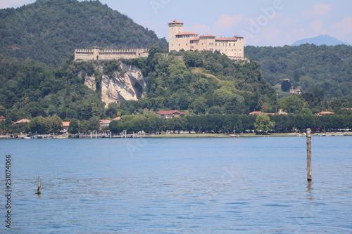 Fotografija  Rocca di Angera in Angera at Lake Maggiore, Italy