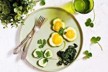 Green Breakfast On St. Patrick...