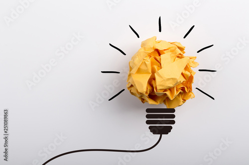 Creative Idea And Innovation Concept