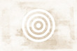 Target Brown Tone Icon Texture Art Background Pattern Design Graphic