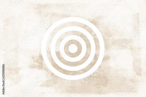 Foto op Plexiglas Stenen in het Zand Target Brown Tone Icon Texture Art Background Pattern Design Graphic