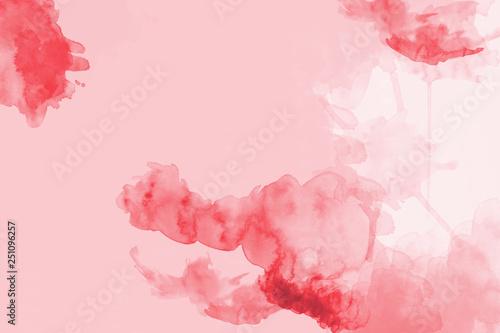 Fotografía watercolor background in red