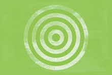Green Target Tone Icon Texture Art Background Pattern Design Graphic