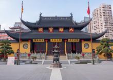 Temple Du Buddha De Jade, Shanghai, Chine