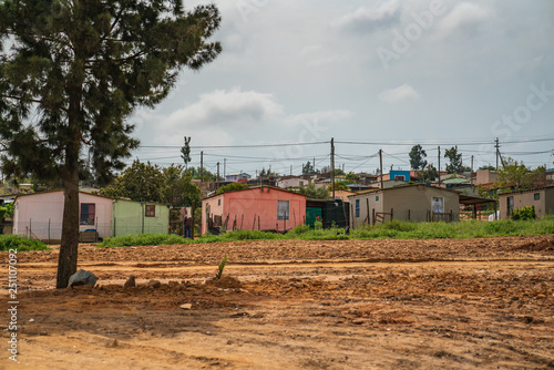 Canvas-taulu township in south africa