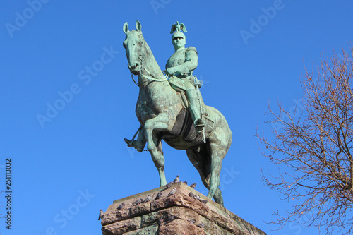 Reiterdenkmal Kaiser Wilhelm II Köln Fototapete