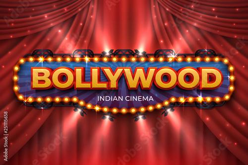 Fotomural  Indian cinema background